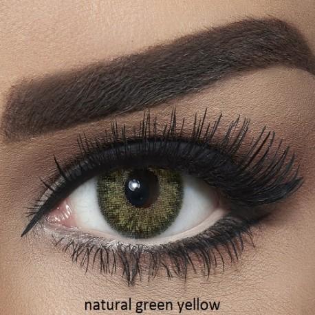 Natural Green Yellow